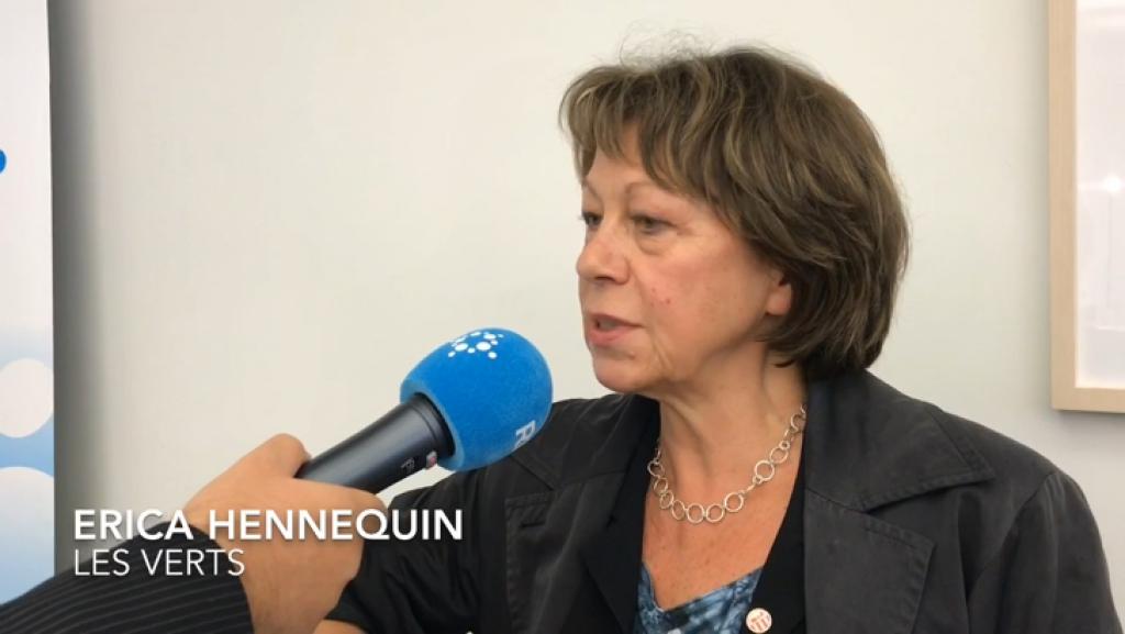 Erica Hennequin est confiante quant aux résultats des Verts