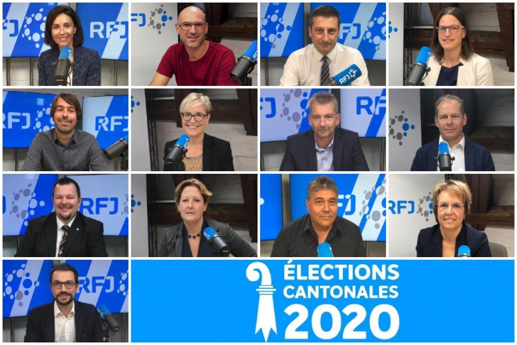 Les candidats au Gouvernement jurassien