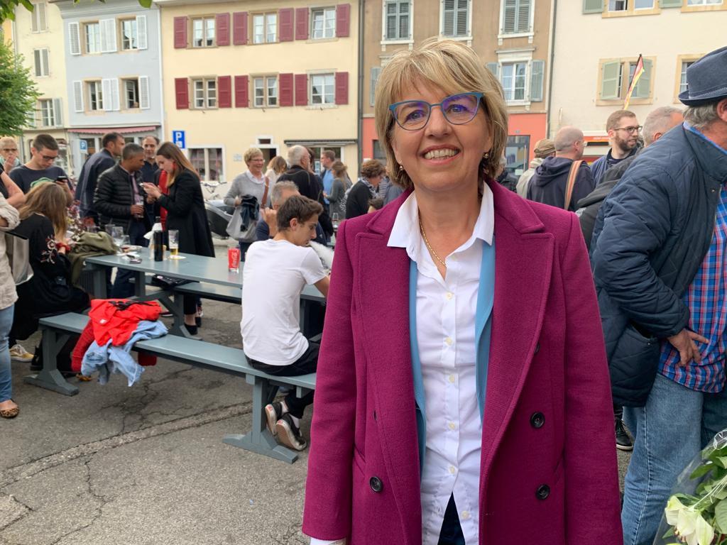 Ca y est, les résultats sont tombés : Elisabeth Baume-Schneider et Charles Juillard sont élus aux Etats.