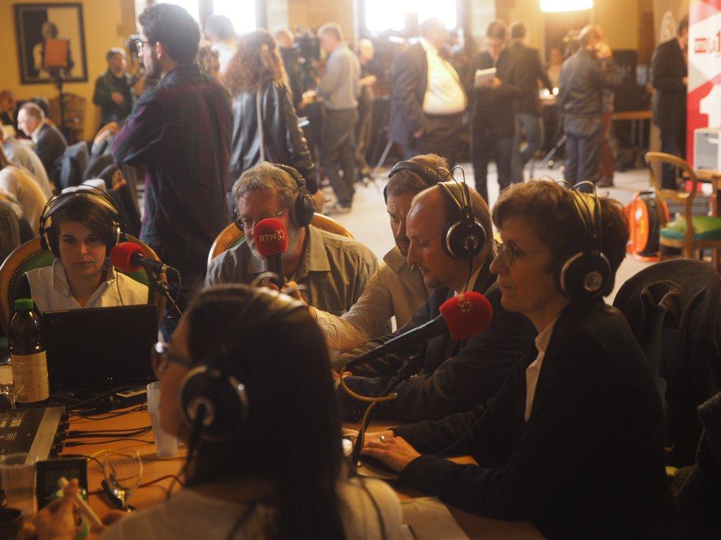 Audio ; table ronde des présidents de parti