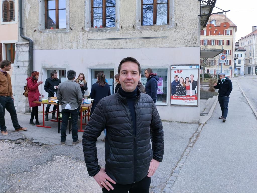 Le popiste Cédric Dupraz est arrivé en 9e position au premier tour du Conseil d'Etat avec 5'992 voix