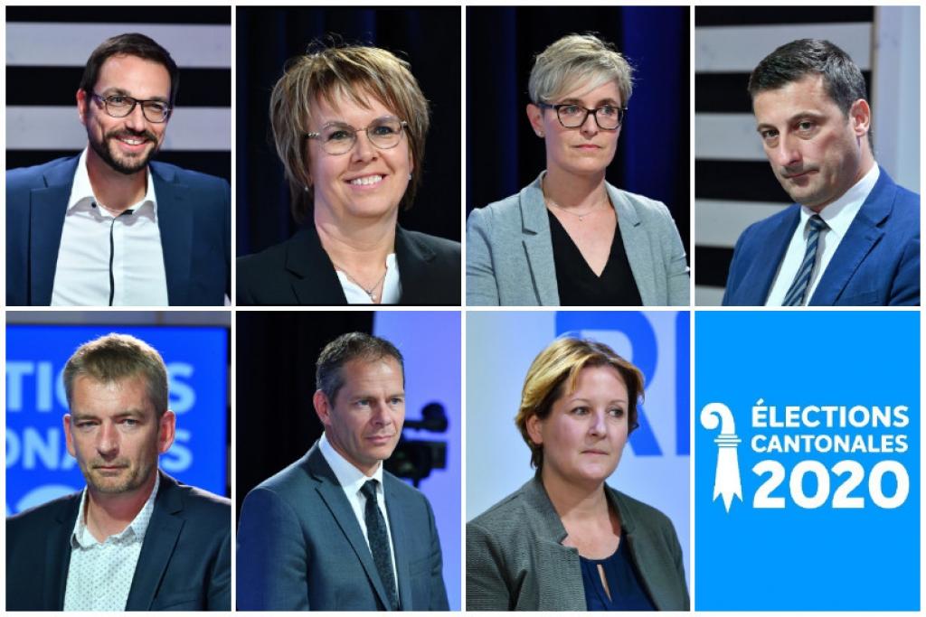 Sept candidats pour cinq sièges