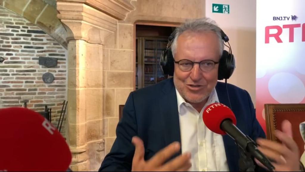 VIDEO: La réaction de Jacques-André Maire
