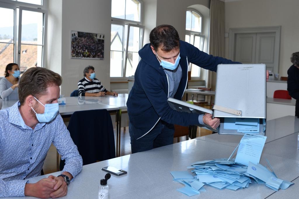 Retrouvez les photos de cette journée électorale dans notre galerie !
