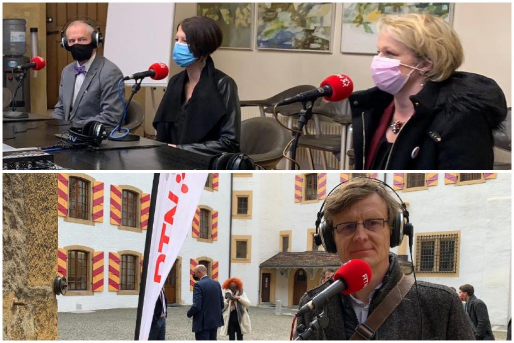 Table ronde avec Florence Nater, Crystel Graf, Robby Tschopp et Frédéric Mairy