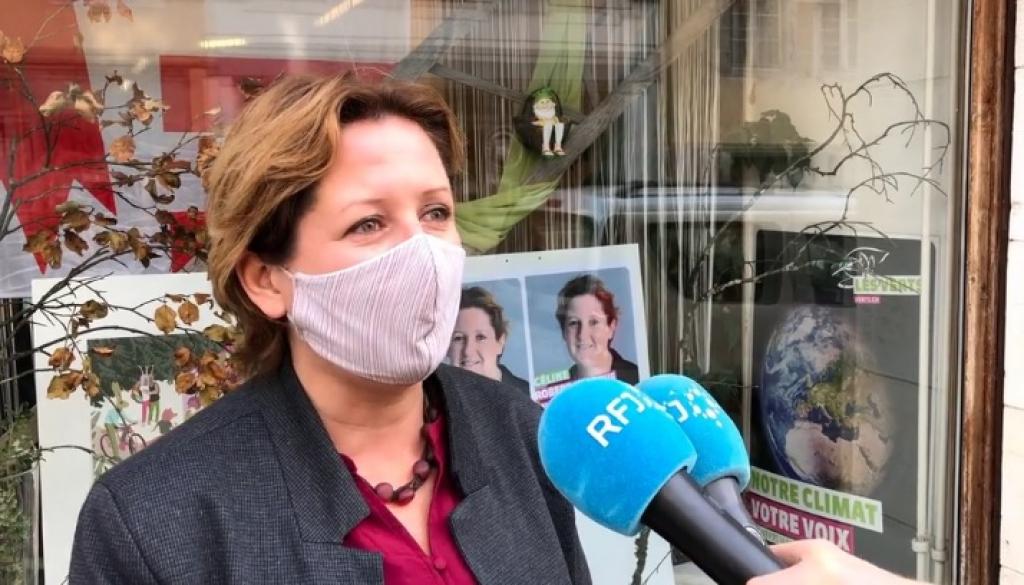 [VIDEO] La réaction de Céline Robert-Charrue Linder