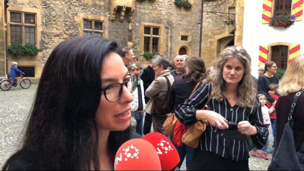 VIDEO: L'intervention de Céline Vara
