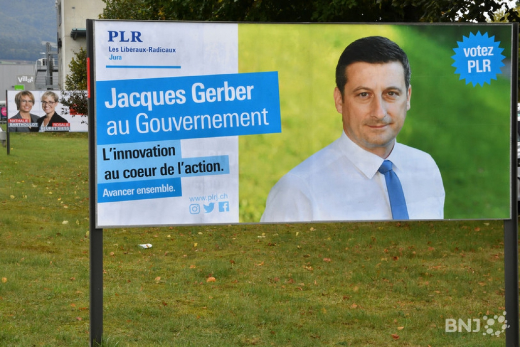 A Porrentruy, Jacques Gerber est en tête