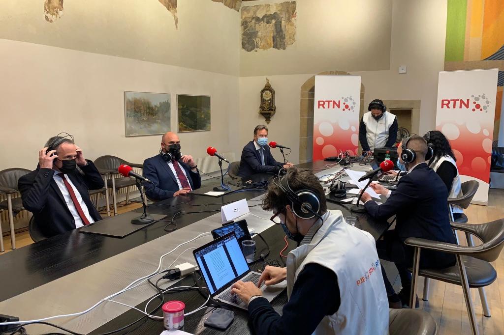 Table ronde avec Alain Ribaux, Laurent Favre et Laurent Kurth