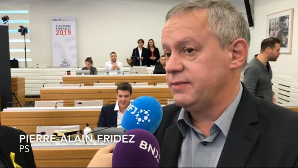Pierre-Alain Fridez s'exprime à notre micro