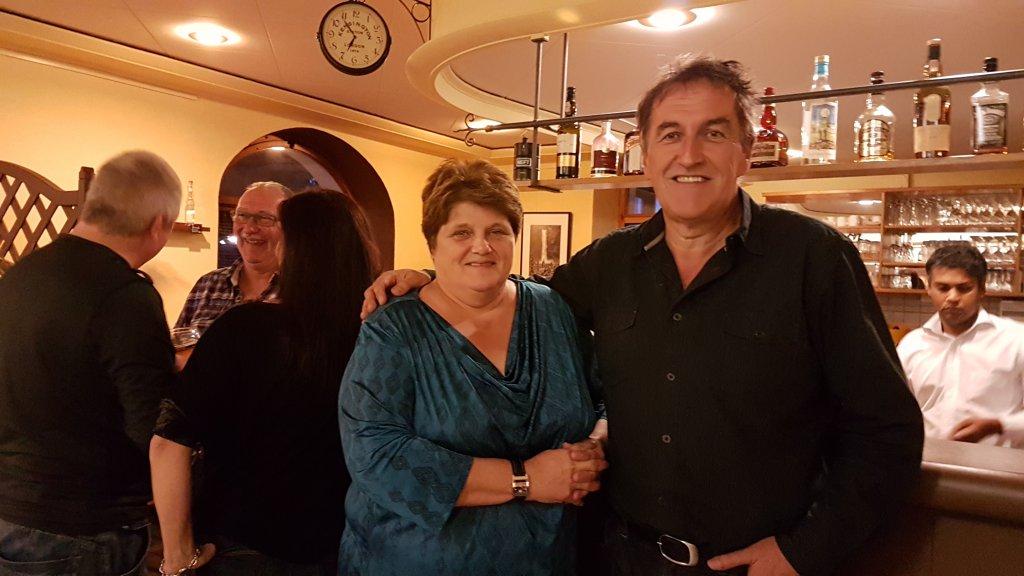 Les deux élus PS au Conseil communal de Haute-Sorne Rose-Marie Allemann et Étienne Dobler