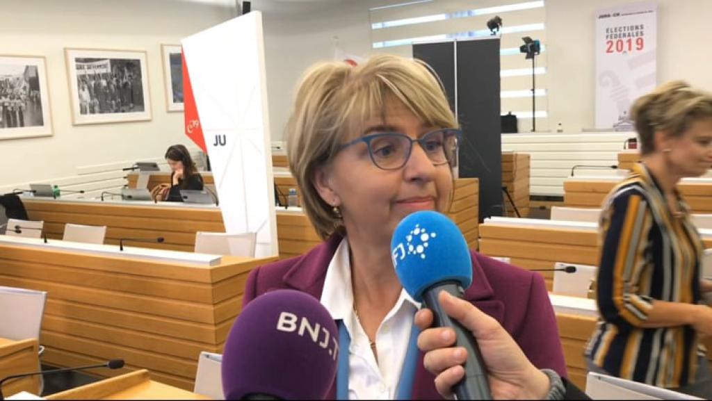 A 15h37, Elisabeth Baume-Schneider est en tête dans le Jura pour les Etats