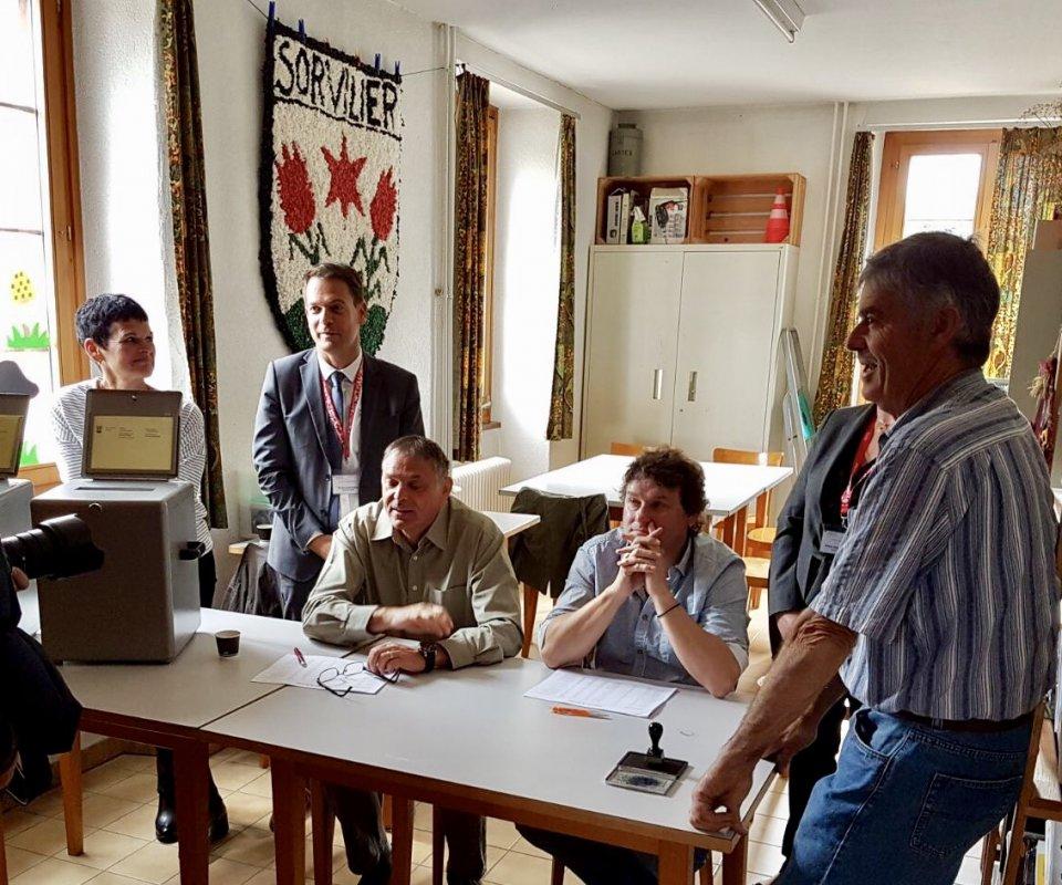 Sorvilier attends ses votants