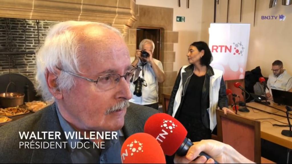 VIDEO : La réaction de Walter Willener