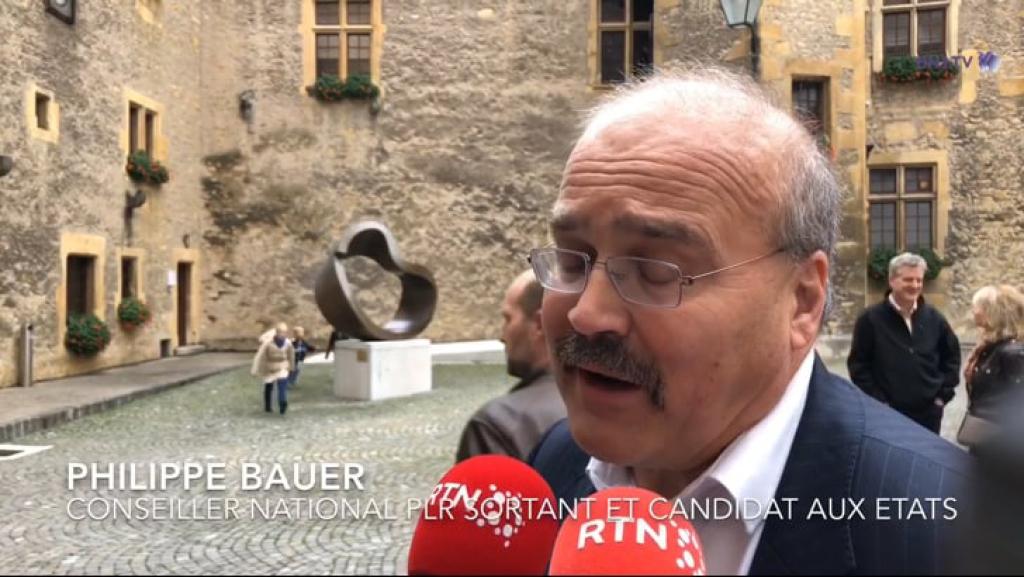 VIDEO: L'arrivée du nouveau Conseiller d'État Phillipe Bauer